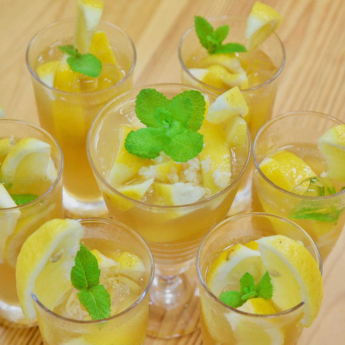 塩麹レモンスカッシュ
