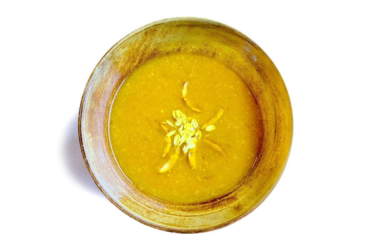 黄のスープ